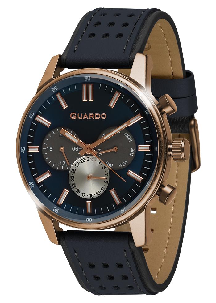 Herrenuhren Guardo Premium 007576-2