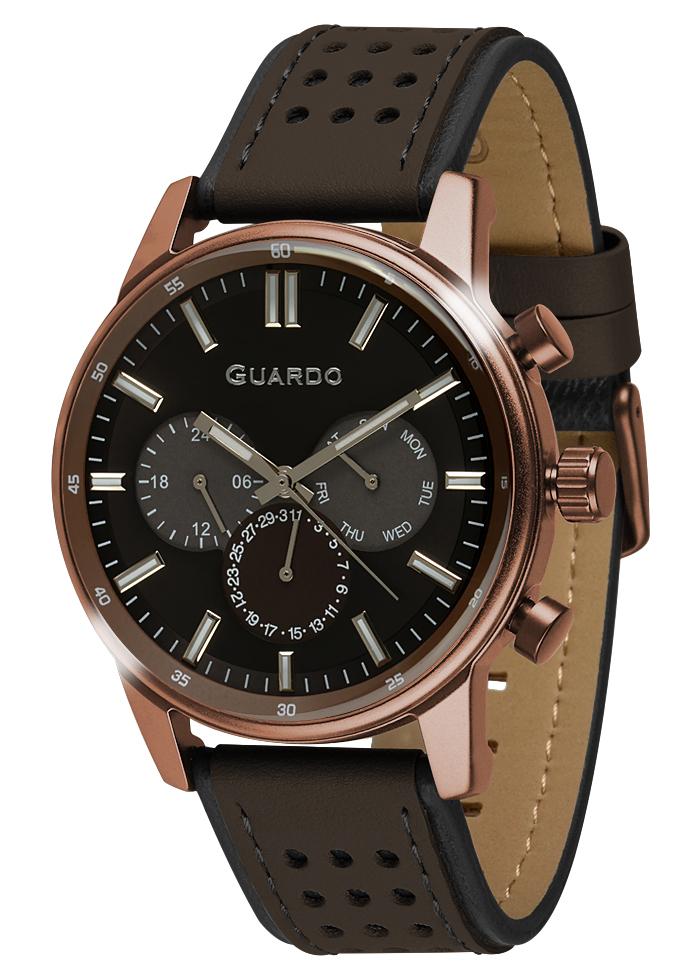 Herrenuhren Guardo Premium 007576-5