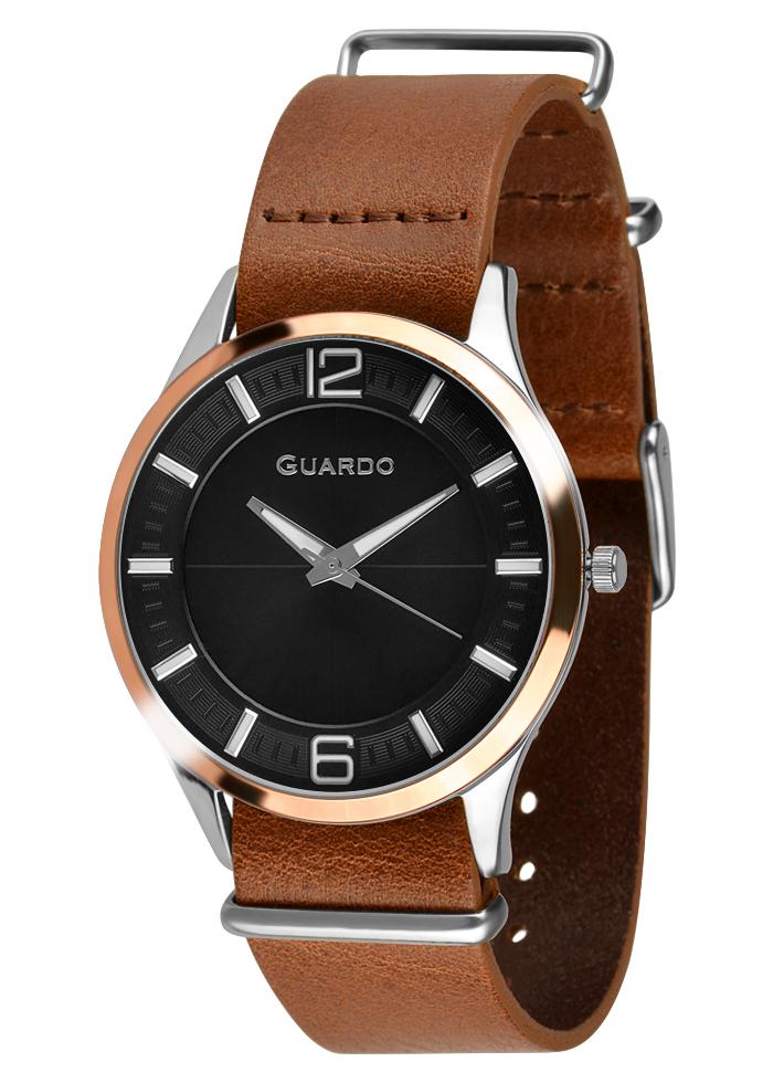 Męski zegarek Guardo Premium 010444-3