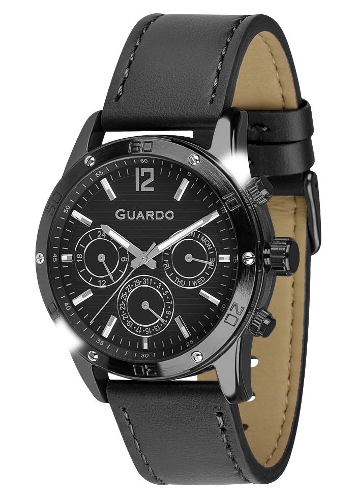 Męski zegarek Guardo Premium 011168-5
