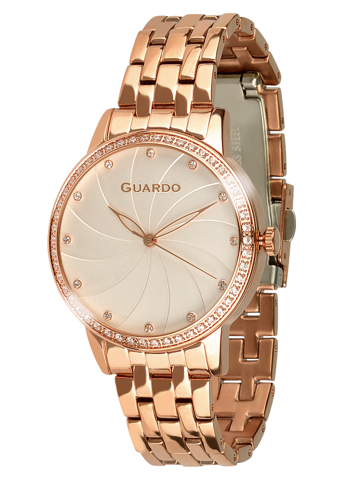 Damski zegarek Guardo Premium 011461(1)-5