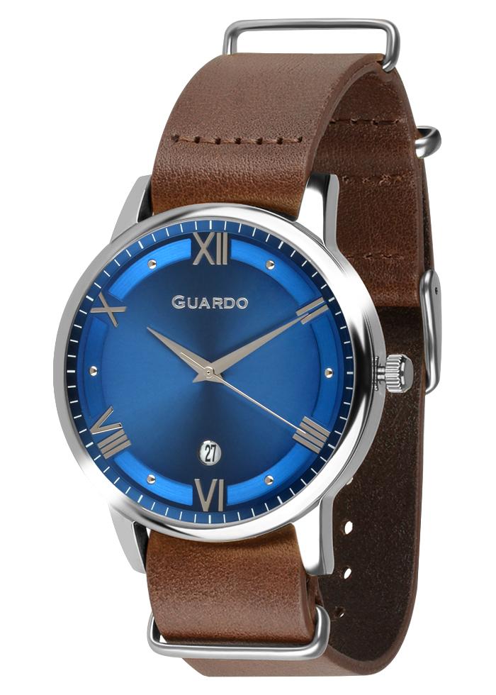 Męski zegarek Guardo Premium 011994-3