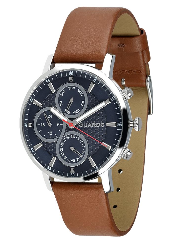 Męski zegarek Guardo Premium 012433-3
