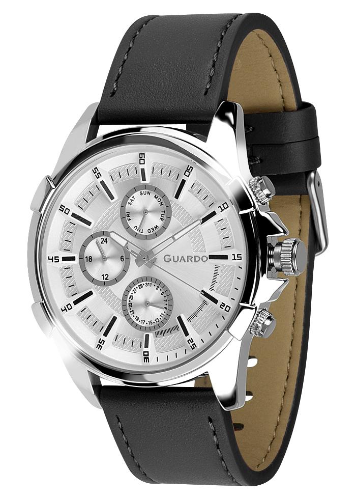 Męski zegarek Guardo Premium 012469-2