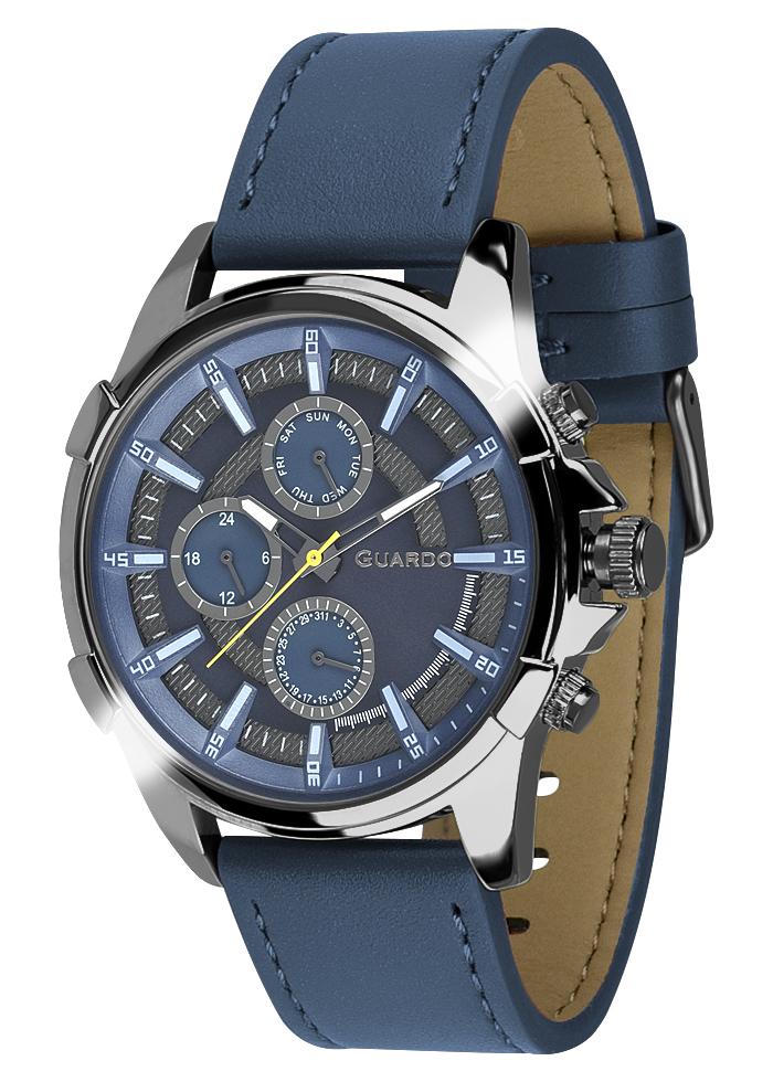 Męski zegarek Guardo Premium 012469-5