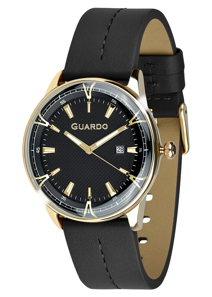 Męski zegarek Guardo Premium 012651-4