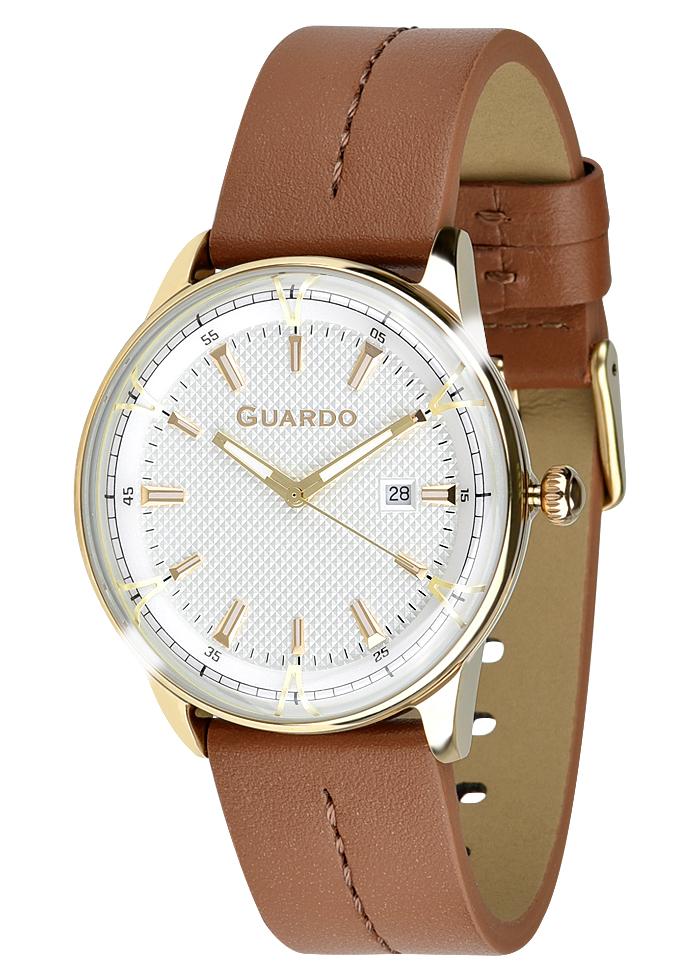 Męski zegarek Guardo Premium 012651-5