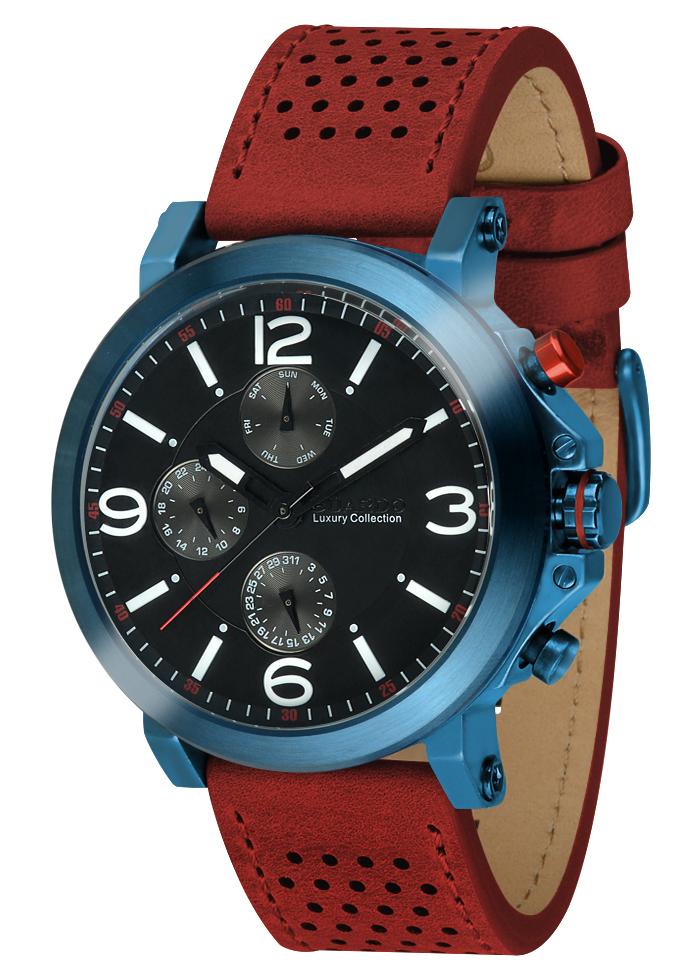 Męski zegarek Guardo Luxury S01210-3
