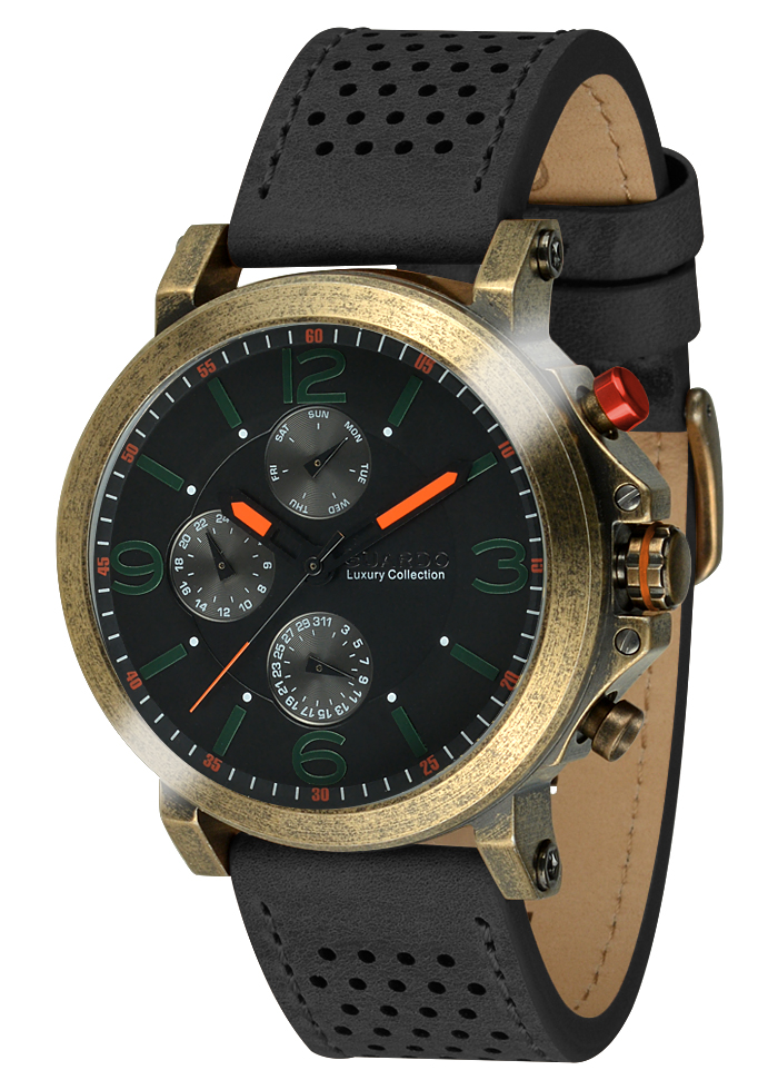 Męski zegarek Guardo Luxury S01210-4