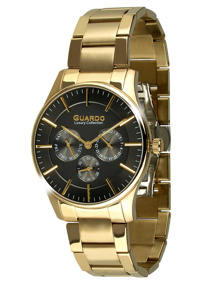 Męski zegarek Guardo Luxury S01216-5