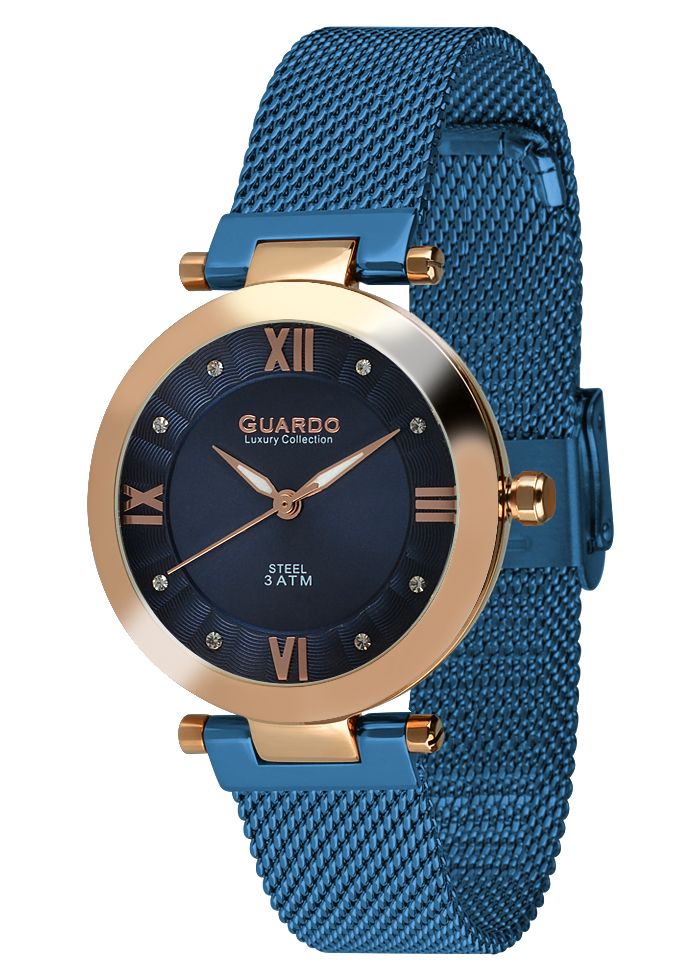 Damski zegarek Guardo Luxury S02071-5
