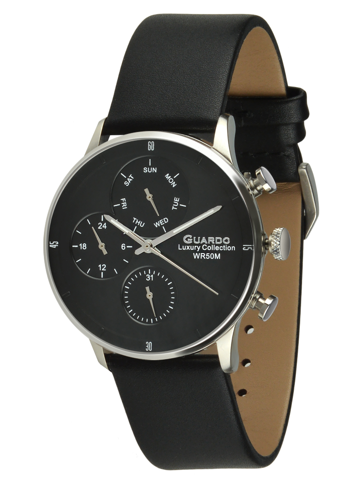 Zegarek Męski Guardo Luxury S02415-2