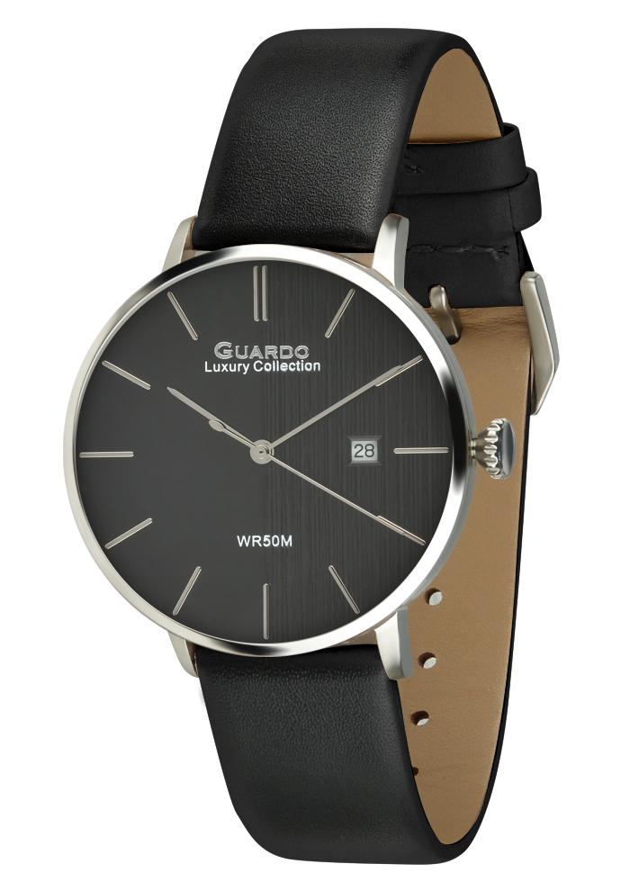 Zegarek Męski Guardo Luxury S02419-2